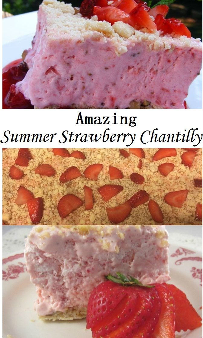 Amazing Summer Strawberry Chantilly Recipe Low Calorie