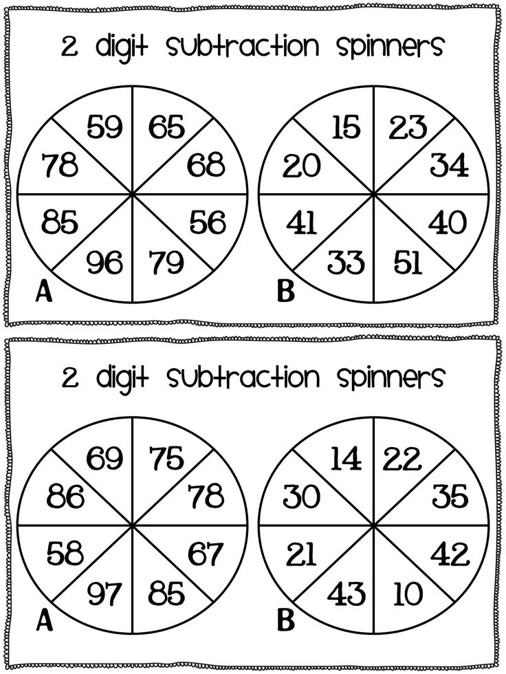 Subtraction freebie! - TGIF! - Thank God It's First Grade!