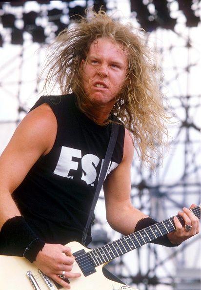 Monsters Of Rock Music Festival Castle Donington Britain 1987 Metallica James…