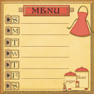 Not sure I like the idea of menu planning ahead of time, but if I ever do...love…