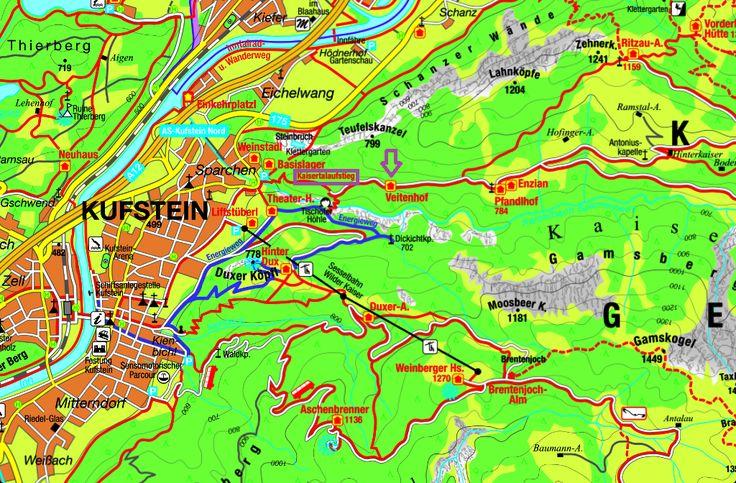 Wanderung Kaisertal über Veitenhof zum Pfandhof