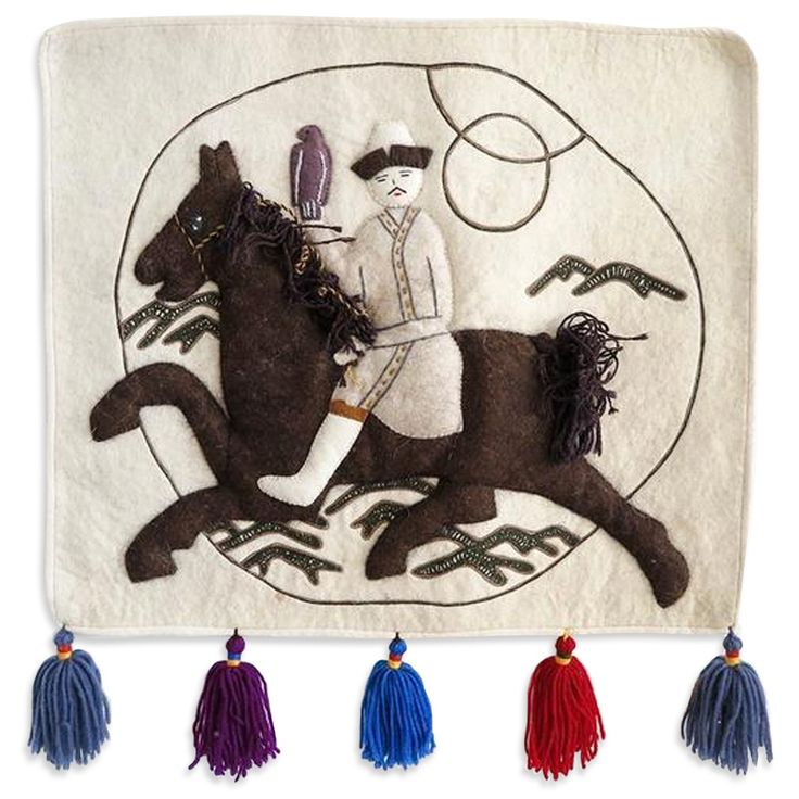Man on Horse Wall Hanging