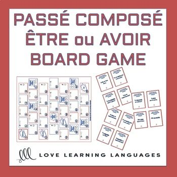 tre ou Avoir - Passé Composé Board Game This passé composé board game is perfect whether you're teaching regular French verbs with avoir, verbs that use être as helping verb (including reflexive verbs), or for when you're ready to mix up regular and irregular