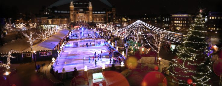 ICE Village - Ice skating £9pp, Vondelpark area