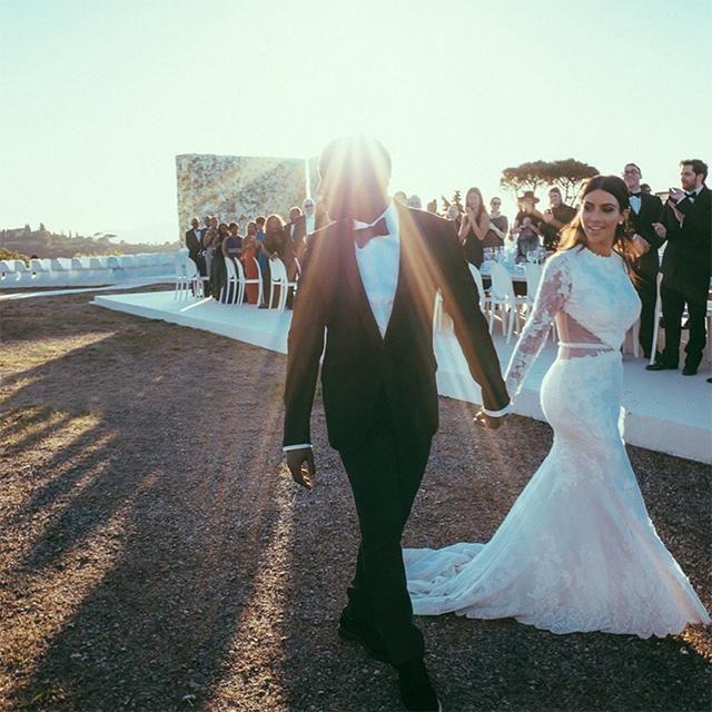 Kim Kardashian West And Kanye West S Wedding Album Vogue Australia Kanye West Wedding Kim Kardashian Wedding Kim Kanye Wedding