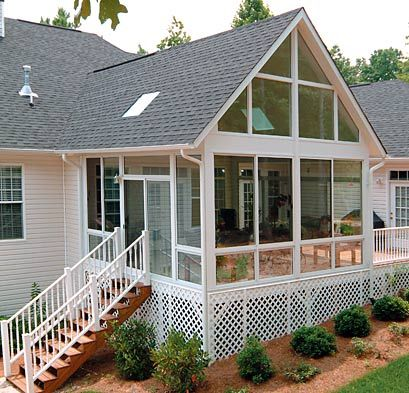 Sunroom Additions | Sunrooms Additions Deck enclosures