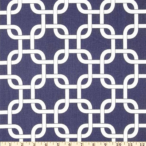 Navy Blue Fabric by the Yard Gotcha cotton Twill by FabricSecret, $10.35