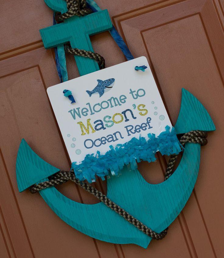 Super cute Under the Sea party ideas