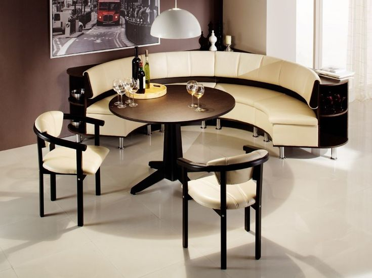 modern corner breakfast nook idea - Breakfast Table With Chairs