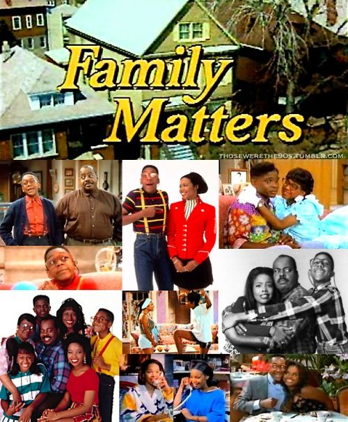 Favorite Television of the '90s    Family Matters  1989-1998