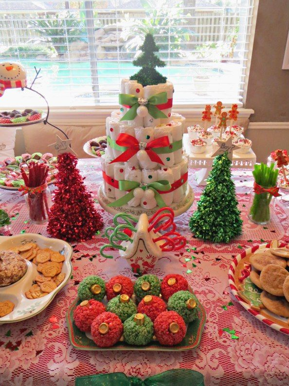11 Christmas Gender Reveal Desserts                                                                                                                                                                                 More