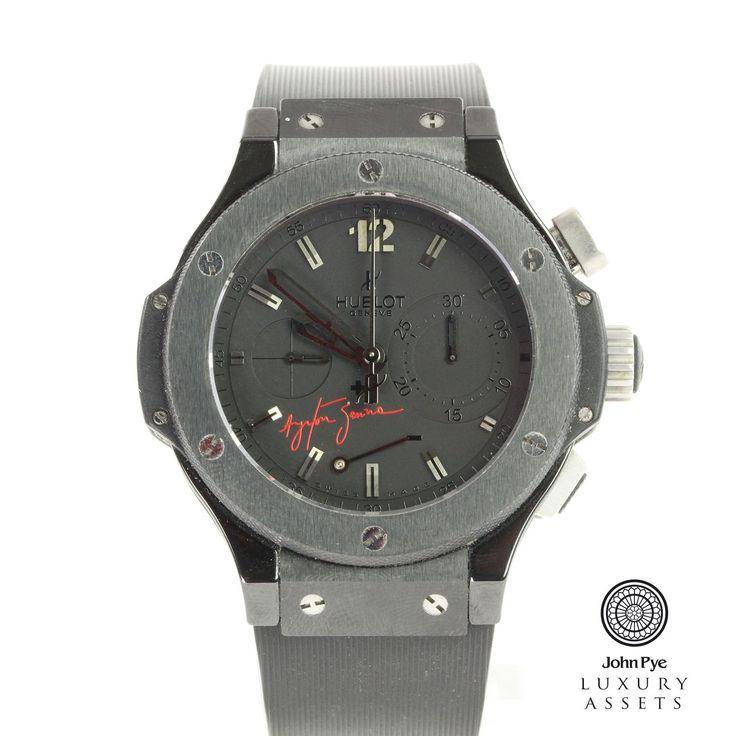 Hublot Big Bang Ayrton Senna Limited Edition Gents Black Ceramic & Titanium Automatic Watch