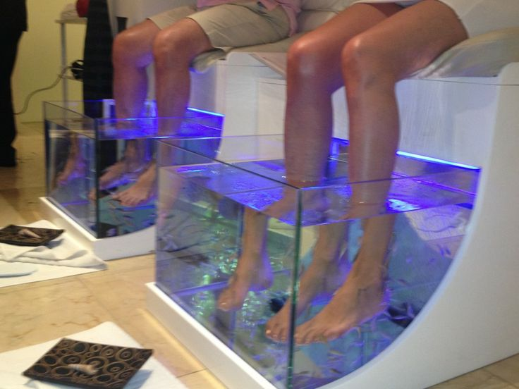 Nail Salon Gypset Lifestyle ~ Fish Pedicure - | Gypset Girl Blog
