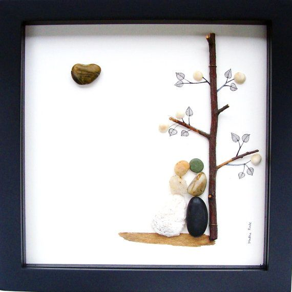 Unique Engagement Gift Wedding Gift Anniversary Gift by MedhaRode, $64.76