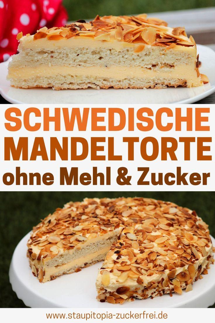 Low Carb Schwedischer Mandelkuchen