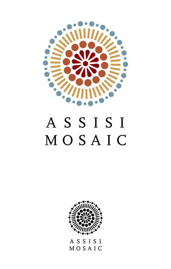 Assisi Mosaic Logo by Fulvio Bisca | Fivestar Branding – Design and Branding Agency & Inspiration Gallery | Professional Logo and Website Design