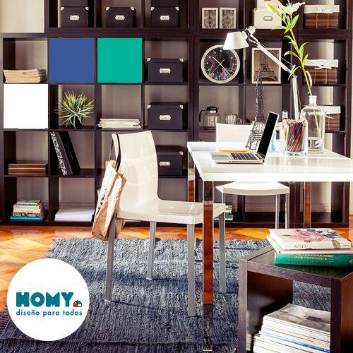 #Homy #deco #escritorio #blanco #espacio