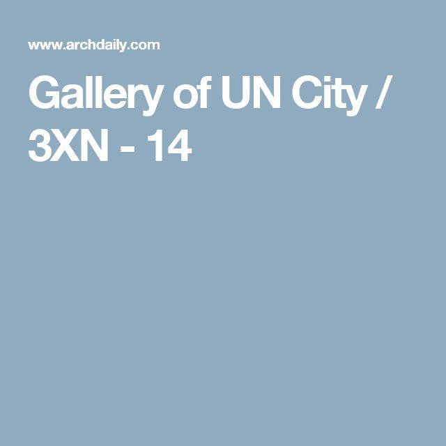 Gallery of UN City / 3XN - 14