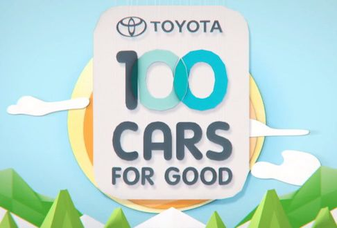 """For Toyota itself, the program means a lot more visibility for its philanthropic efforts. Nearly 27,000 people have viewed the video explaining this year's 100 Cars for Good program, and the company's Facebook posts about the program routinely get hundreds of """"likes."""""""