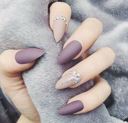 32 Gorgeous Nail Art Images Inspired By Summer Motifs: Nails, Matte Nails, Nails 2018