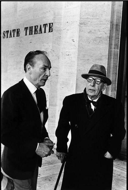 Balanchine and Stravinsky, 1965