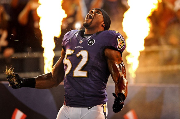 Ravens linebacker Ray Lewis confirms he will retire at the end of the season. Is he the greatest LB ever? (Getty)