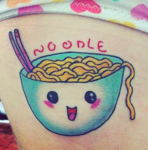 Posts, Noodles And Tattoos
