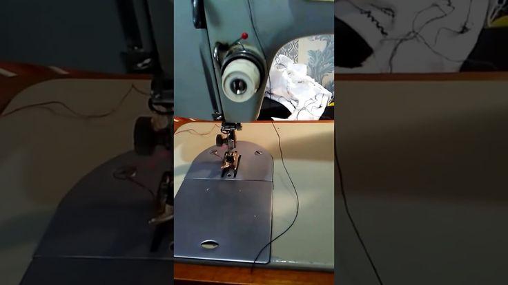 Как заправить нитку в швейной машинке Подольск и Чайка