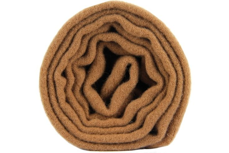 Raffinée, luxueuse, écharpe Lambswool marron chic et chaude.