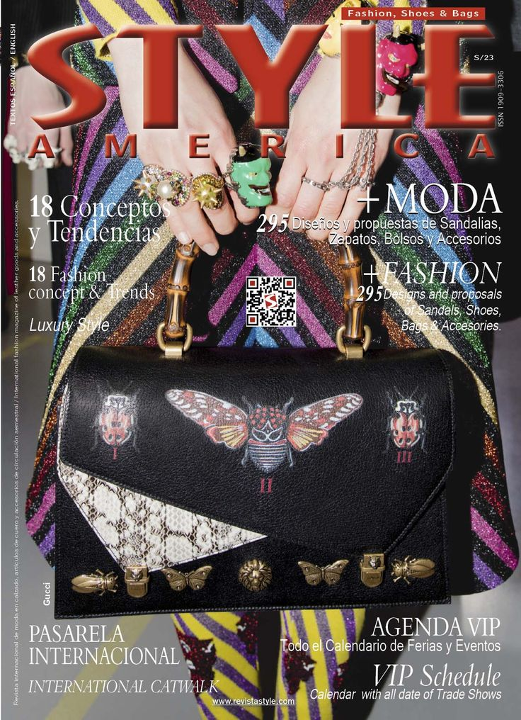 STYLE AMERICA Fashion, Shoes & Bags. Issue #23 Cover: Gucci #StyleAmerica