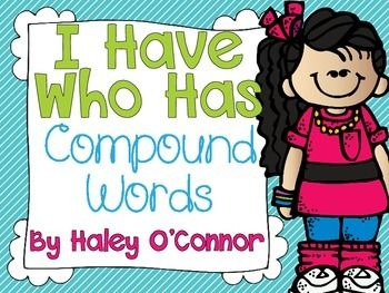 Compound Words I Have...Who Has Game {Freebie}