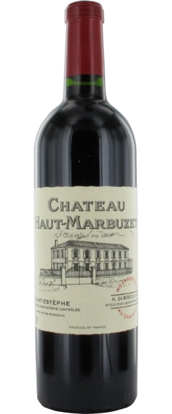 """Château Haut-Marbuzet 2010 : """"Attaque souple, belle maturité du raisin, joliment épicé, belle finale charmeuse""""     www.liste-des-vins.fr"""