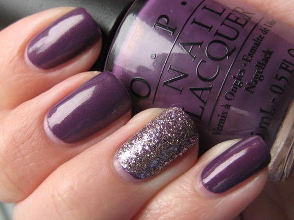 OPI's Dutch Ya Just Love OPI with an  accent nail