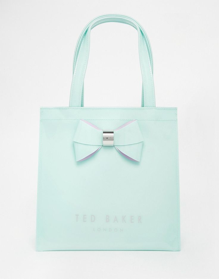 Ted+Baker+Small+Icon+Bag+In+Mint Might be getting one! Love it