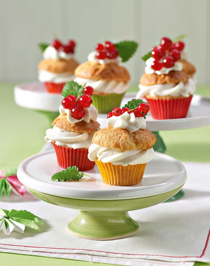 Gefüllte Muffins mit Ricotta-Füllung