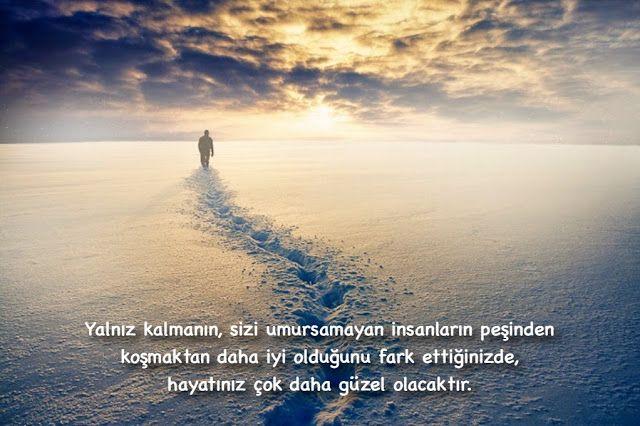 Yalnız kalmanın, sizi umursamayan insanların peşinden koşmaktan daha iyi olduğunu fark ettiğinizde, hayatınız çok daha iyi olacak ve anlam kazanacaktır.
