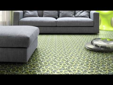 Bisazza Contemporary Cement Tiles - YouTube