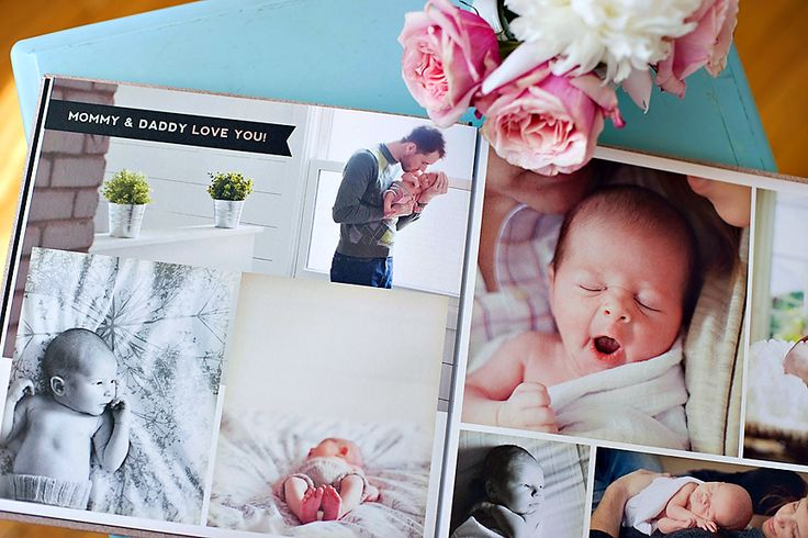 Album Templates: Heirloom Baby Book | Spotlight, Baby album and ...