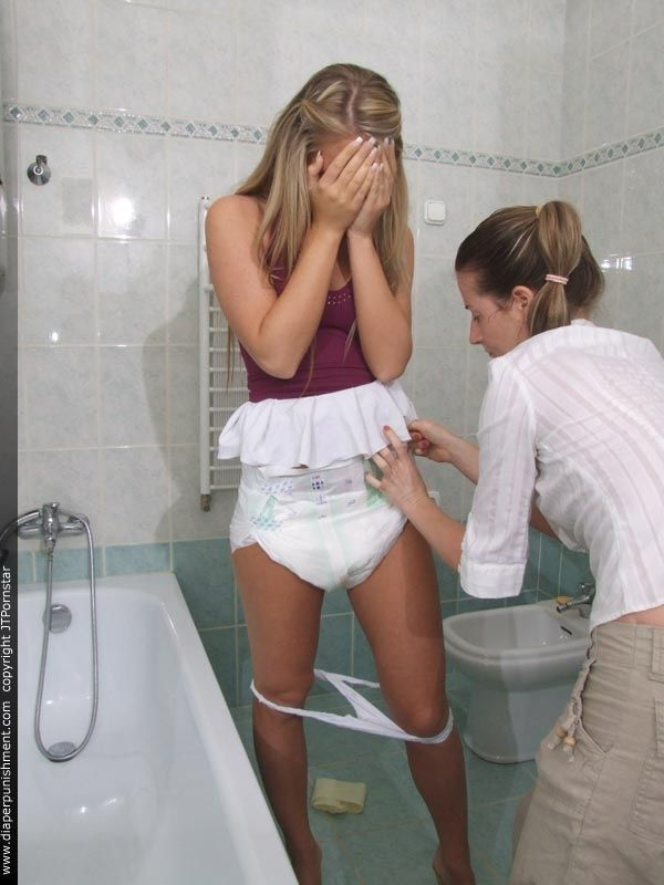 teenage-girls-diaper-punishment