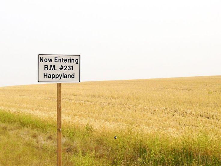 The R.M. of Happyland near Leader, Sask.