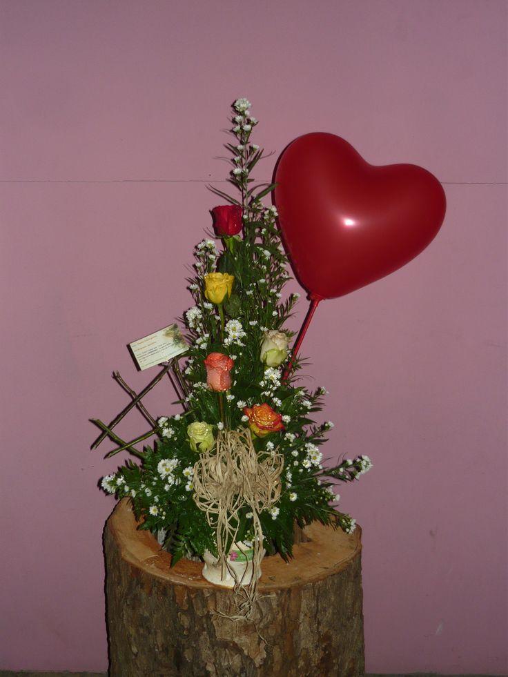 71 best images about lo mejor en arreglos florales on - Adornos florales para casa ...