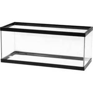 All Glass Aquarium Co. 20 Gallon Long Tank Black 30 x 12 x 12