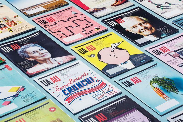 University Affairs Magazine on Behance Graphic design