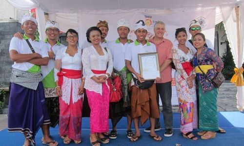Best Team Gebogan and Penjor Competition 2015