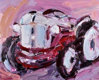 """""""Machine Lover"""" by Craig Waddell @ Muk Muk Fine Art"""