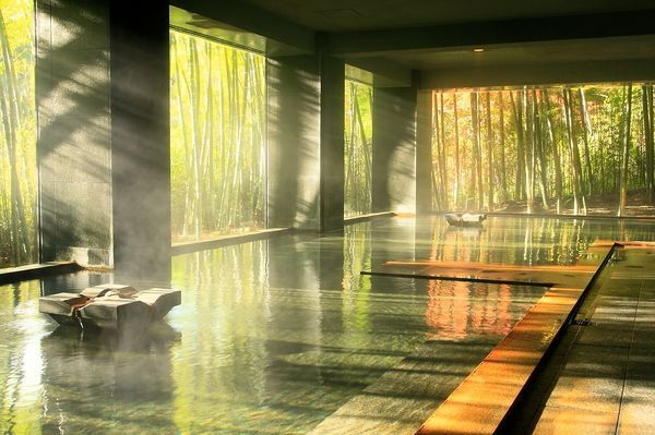 竹林の湯/Onsen/Japan