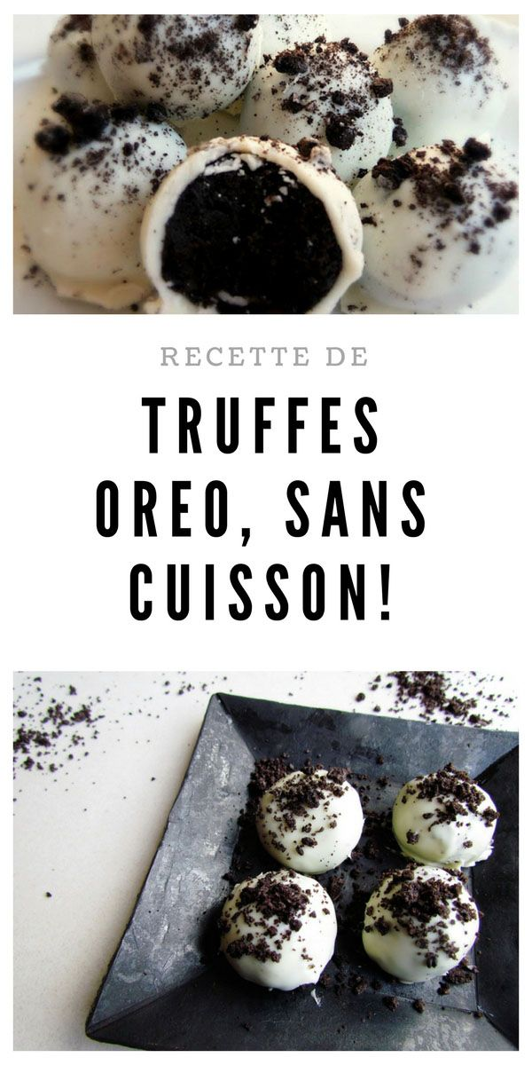 #truffes #oreo #sanscuisson