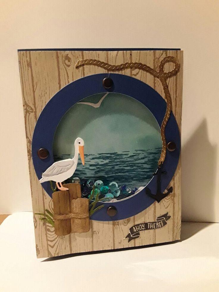 Seaside Shaker card