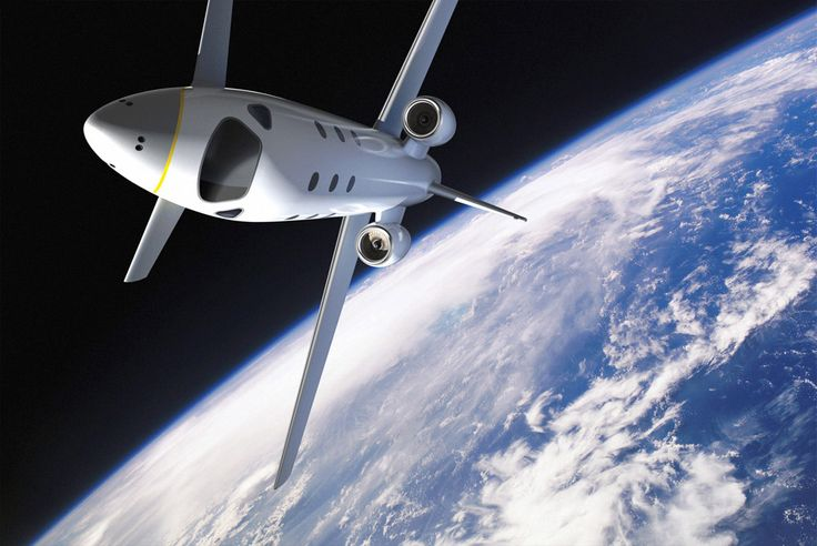 In 2007 Marc Newman designed a spaceplane for Astrium, (EADS) to take passages for short trips into space. He designed both interior and exterior. It is still a prototype