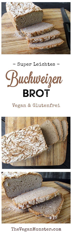 Vegan Gluten Free Super Easy Buckwheat Bread Recipe   – Backen Brot & Brötchen